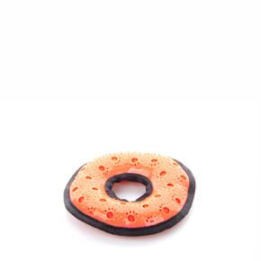 Koblížek, nylonová pískací hračka sTPR prvky