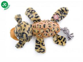 JK ANIMALS Levhart, plyšová pískací hračka sTPR prvky | © copyright jk animals, všechna práva vyhrazena