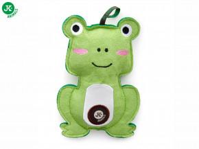 JK ANIMALS Žába, pískací hračka z pevné textilní látky | © copyright jk animals, všechna práva vyhrazena