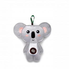 Koala, pískací hračka zpevné textilní látky, 18cm