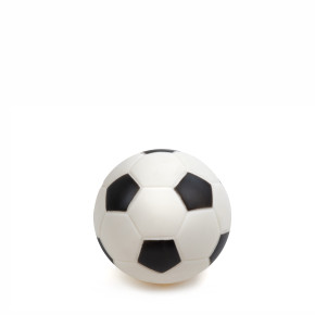 Vinylový fotbalový míč 10 cm, vinylová (gumová) hračka