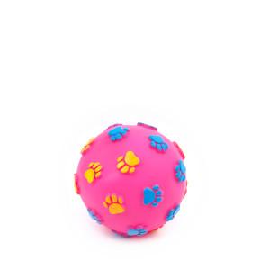 Vinylový míč tlapky 7,6 cm, vinylová (gumová) hračka