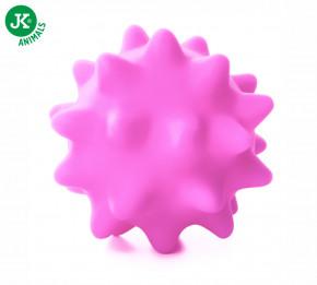 JK ANIMALS Vinylový míč s bodlinami růžový | © copyright jk animals, všechna práva vyhrazena