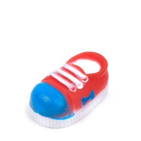 Vinylová bota malá, vinylová (gumová) hračka