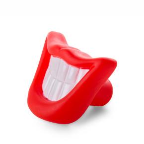 Vinylový úsměv – zuby 9cm, vinylová (gumová) hračka
