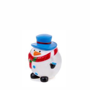 Vinylový sněhulák X-MASS – 8,5cm, vinylová (gumová) hračka