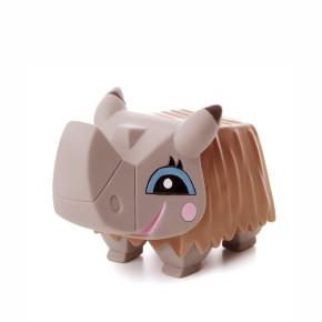 Vinylový nosorožec cca 11cm, vinylová (gumová) hračka