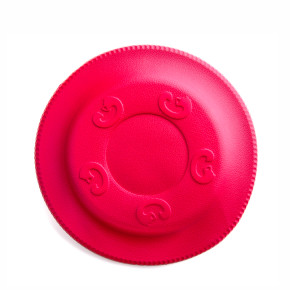 Frisbee červené 22 cm, odolná hračka zEVA pěny
