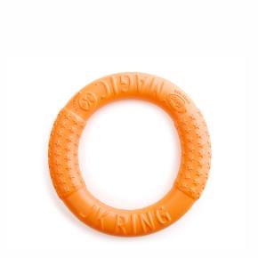 Magic Ring oranžový 17 cm, odolná hračka zEVA pěny