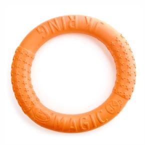 Magic Ring oranžový 27 cm, odolná hračka zEVA pěny