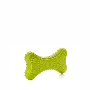 TPR - Zelená kost, odolná (gumová) hračka ztermoplastické pryže