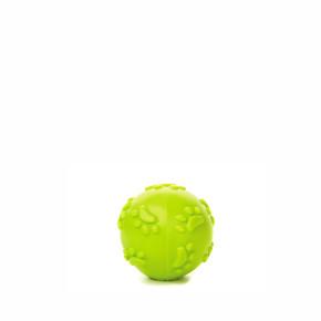 TPR - Zelený pískací míček tlapky, odolná (gumová) hračka ztermoplastické pryže