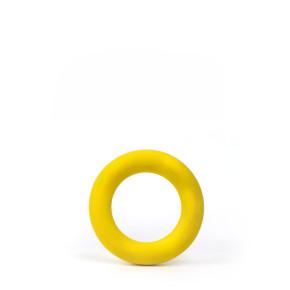 Kroužek 9,5 cm, odolná (gumová) hračka z tvrdé gumy