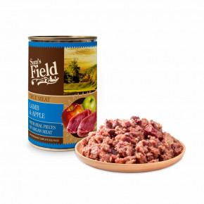 Sam's Field True Lamb Meat & Apple, superprémiová konzerva, 400 g (Sams Field)
