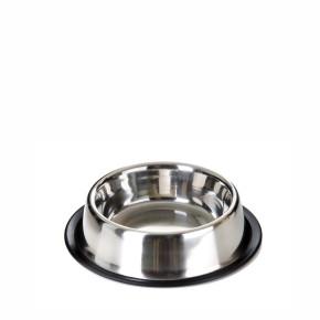 Nerezová miska pro psy, 0,4l, 14cm, dlouhá životnost a odolnost