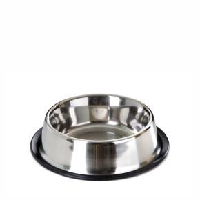 Nerezová miska pro psy, 0,7l, 16cm, dlouhá životnost a odolnost