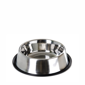 Nerezová miska pro psy, 0,8l, 17cm, dlouhá životnost a odolnost
