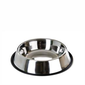 Nerezová miska pro psy, 1,5l, 23cm, dlouhá životnost a odolnost