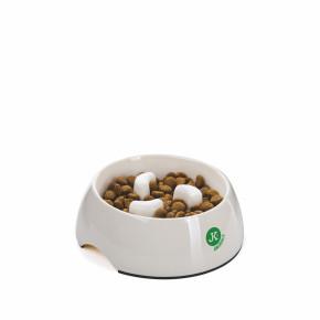 Protihltací melaminová miska pro psy, střední, 440ml, 14cm