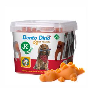 Dento Dino – dentální pamlsek s propolisem