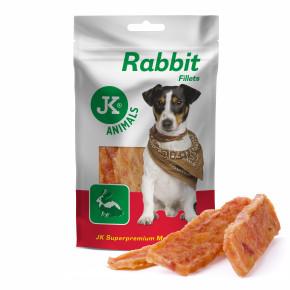 Králičí masové filety, masový pamlsek, 80g (Rabbit Fillets Meat Snack)