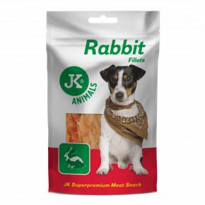 JK ANIMALS Meat Snack Rabbit fillets   © copyright jk animals, všechna práva vyhrazena