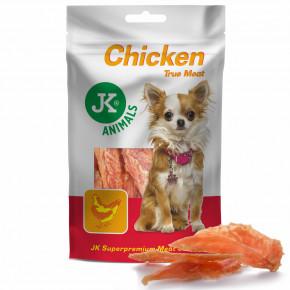 Sušené kuřecí masíčka, JK ANIMALS Chicken Meat Snack, kuřecí filety, masový pamlsek | © copyright jk animals, všechna práva vyhrazena