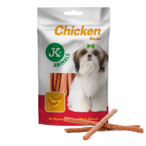 Meat Snack Chicken Sticks, sušené kuřecí tyčinky, masový pamlsek, 80g