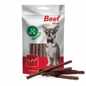 Hovězí tyčinky, masový pamlsek, 80g (Beef Sticks Meat Snack)