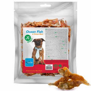 JK ANIMALS Meat Snack Ocean Fish and Chicken Meat, ryba s kuřecím masem | © copyright jk animals, všechna práva vyhrazena