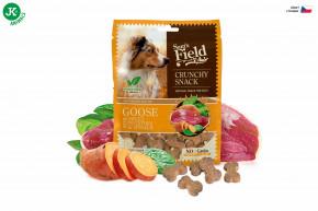 Sam's Field Crunchy Cracker Goose with Sweet Potatoes & Spinach 200g   © copyright jk animals, všechna práva vyhrazena