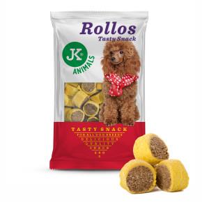 Biscuit - Rollos drůbeží - Tasty Snack, pečený pamlsek
