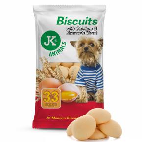 JK Piškoty, Biscuit with Calcium & Brewer's Yeast, 250g, pečený pamlsek pro psy