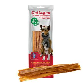 Kolagenová střívka s játry, kolagenový pamlsek (50% kolagenu), 60g
