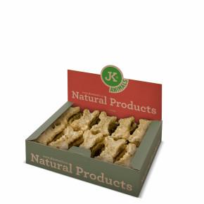 Kost natural s drůbežími játry a jukou (Odour Control - redukuje zápach z výkalů, zdravá mikroflóra), přírodní pamlsek, 650g, 10cm, 27ks