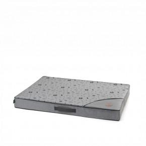 Matrace Memory Grey LUXL, 95cm, spaměťovou pěnou