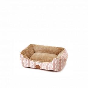 Pelíšek FurryS, 50cm, béžový, jemný pelíšek pro psy