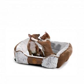 Pelíšek Okapi M, 60cm, jemný pelíšek pro psy