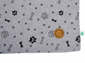 JK ANIMALS tenká poduška Grey LUX L   © copyright jk animals, všechna práva vyhrazena