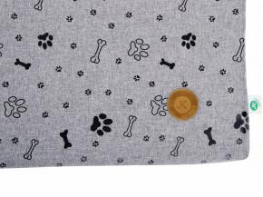 JK ANIMALS tenká poduška Grey LUX XL | © copyright jk animals, všechna práva vyhrazena