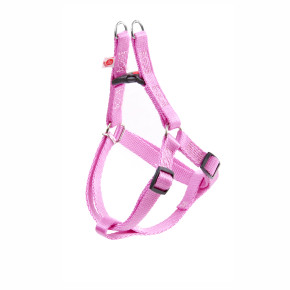 Postroj JK Classic mini - 10 mm, růžový