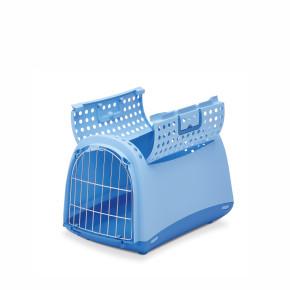 Plastová přepravka Linus CABRIO modrá