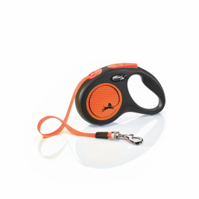 flexi New Neon Tape (pásek) oranžové, velikost S