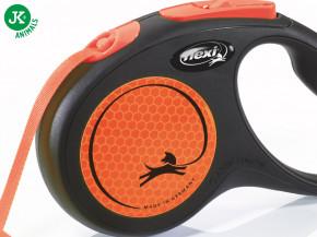 flexi New Neon Tape (pásek) oranžové, velikost S | © copyright jk animals, všechna práva vyhrazena
