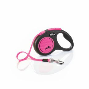 flexi New Neon Tape (pásek) růžové, velikost S
