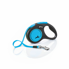 flexi New Neon Tape (pásek) modré, velikost S