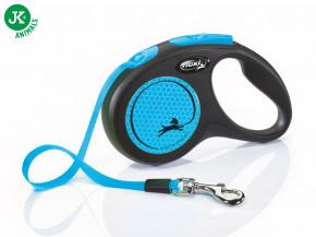 flexi New Neon Tape (pásek) modré, velikost S | © copyright jk animals, všechna práva vyhrazena