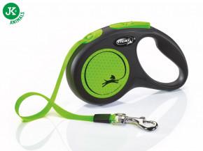 flexi New Neon Tape (pásek) zelené, velikost S | © copyright jk animals, všechna práva vyhrazena