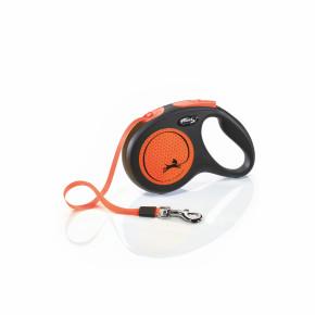 flexi New Neon Tape (pásek) oranžové, velikost M
