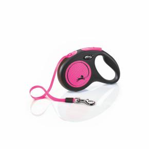flexi New Neon Tape (pásek) růžové, velikost M